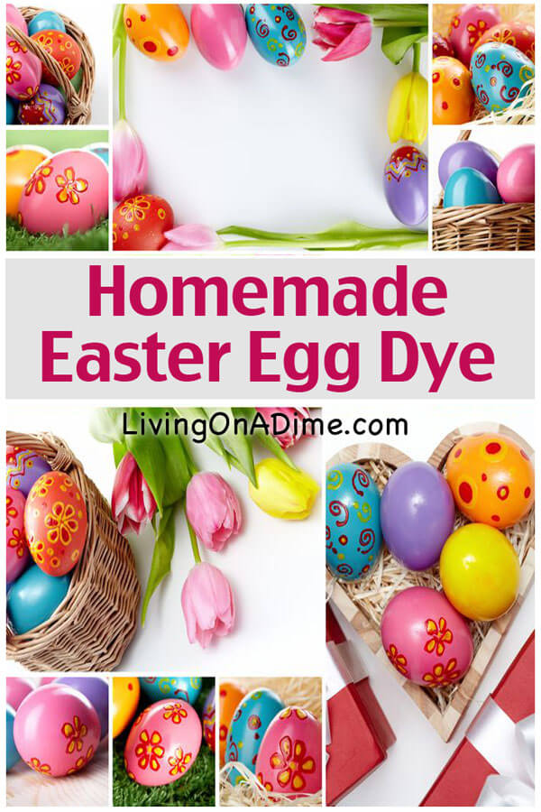 Homemade Easter Egg Dye - Decorating Eggs - Natural Dyes