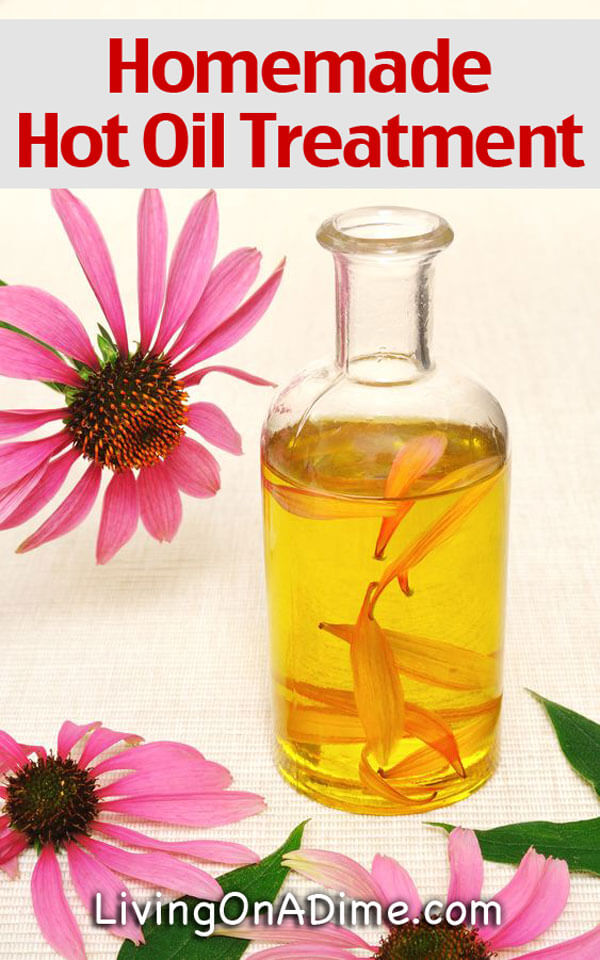 Homemade Hot Oil Treatment Recipe