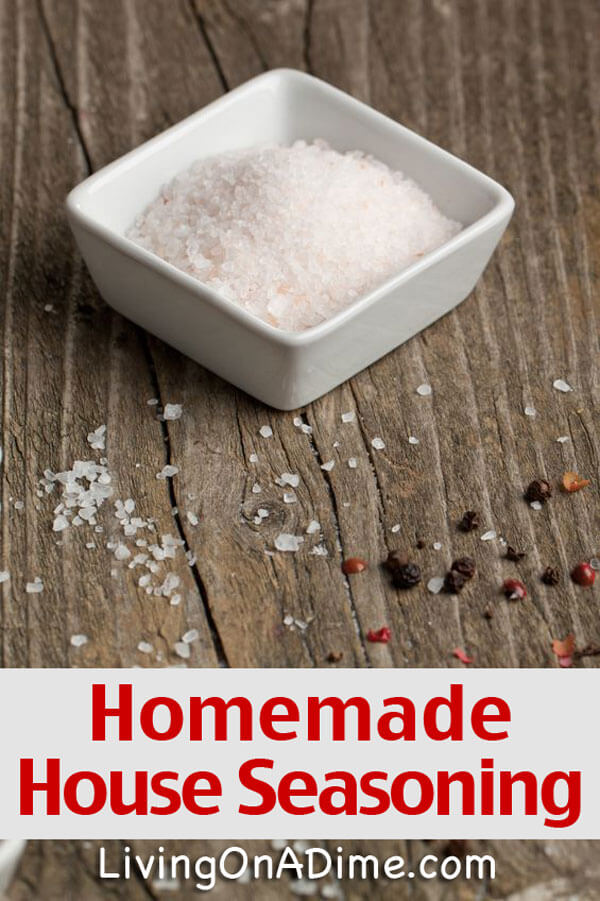 Homemade House Seasoning Recipe - Homemade Seasonings Mixes And Blends