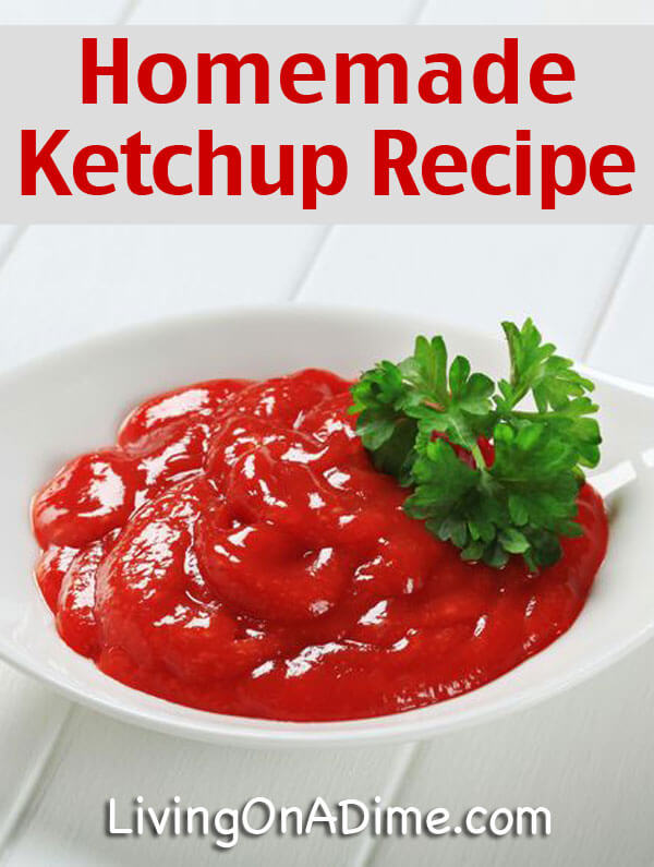 Homemade Ketchup Recipe - 10 Foods You Didn't Know You Could Make At Home