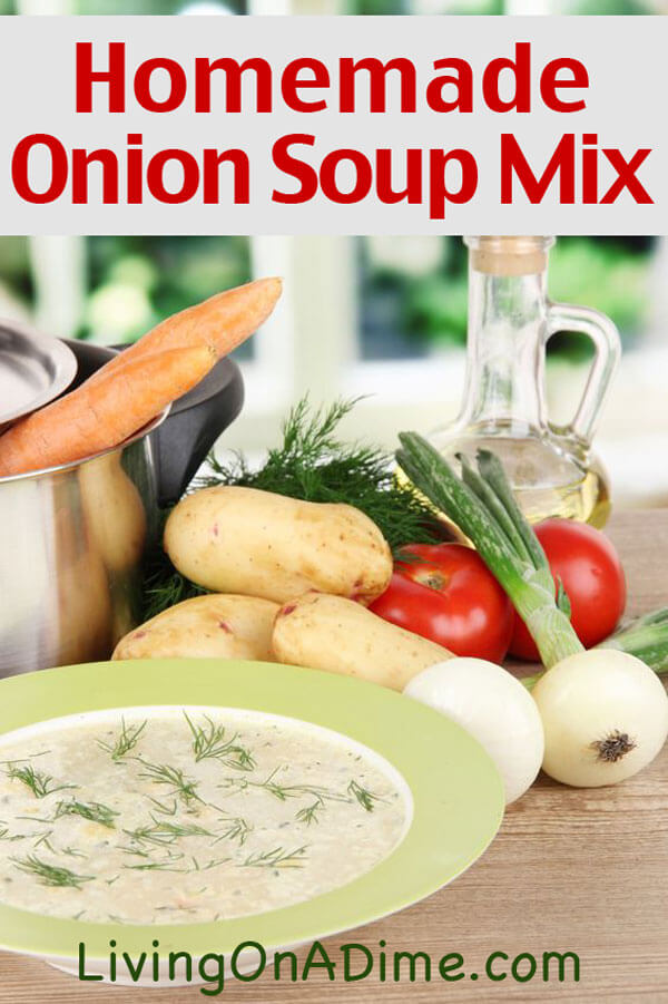 Homemade Onion Soup Mix Recipe - Homemade Seasonings Mixes And Blends