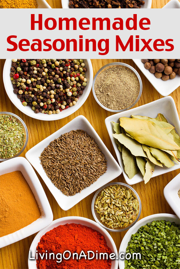 Homemade Seasonings Mixes And Blends Recipes