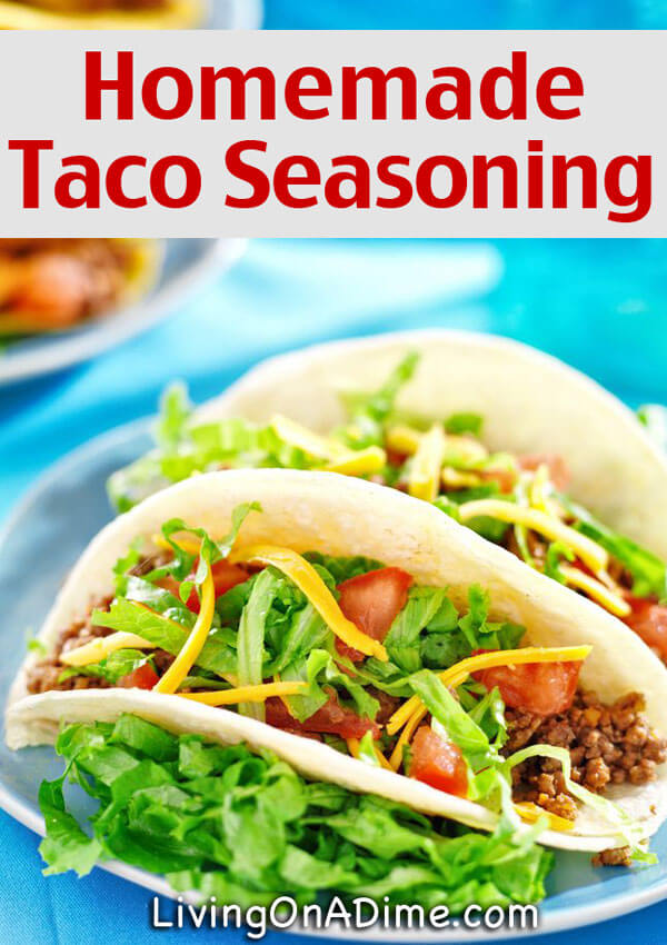 Homemade Taco Seasoning Recipe - 10 Foods You Didn't Know You Could Make At Home