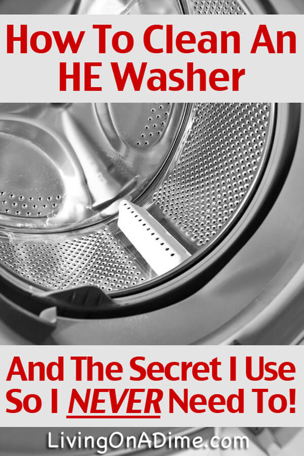 How To Clean A Front Load Washer Why I Never Need To - Clean washing machine ideas