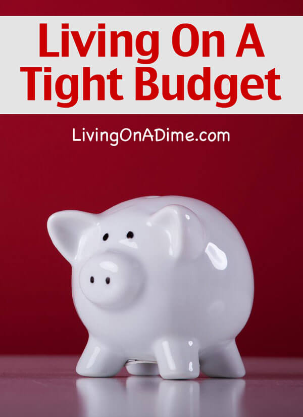 Living On A Tight Budget - Debt Free Living