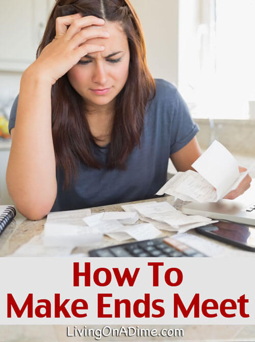 How to Make Ends Meet - Dealing With Unexpected Expenses