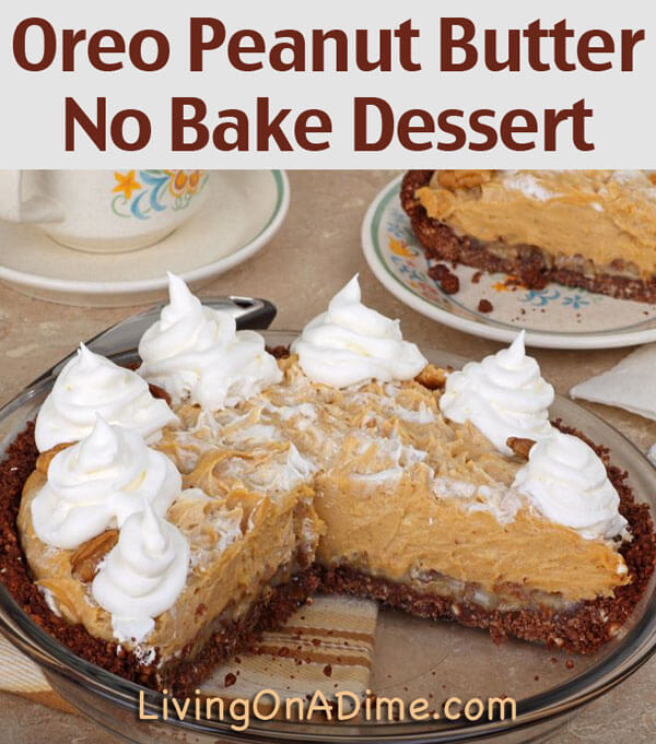 Easy no bake desserts for Simple peanut butter dessert recipes