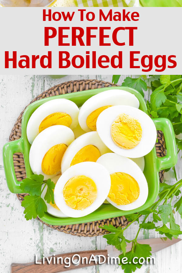 How To Make The Perfect Hard Boiled Eggs Recipe