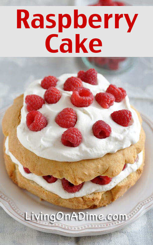 Raspberry Cake Recipe - 10 Easy Valentine's Day Candy and Treats Recipes