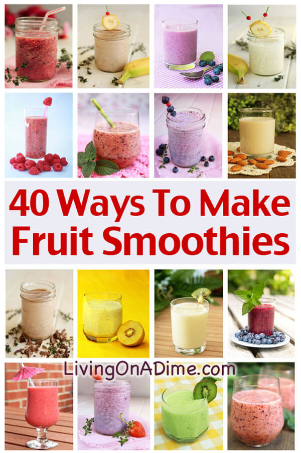 how to make a fruit smoothie fruit of the month