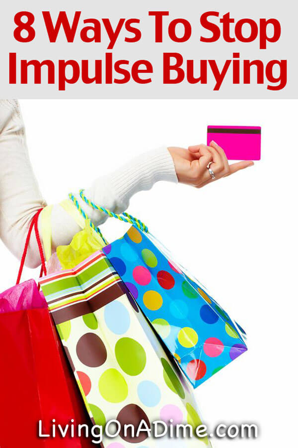 8 Ways To Stop Impulse Buying