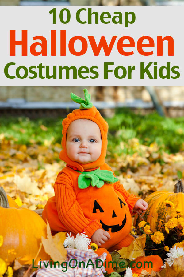 Here are some really cute ideas for cheap halloween costumes for kids and families! With a little creativity, you can make these easy Halloween costumes that your kids will love and save a ot on a better costume! Check it out here!