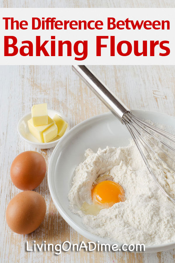 Difference Between Baking Flour All Purpose Self Rising