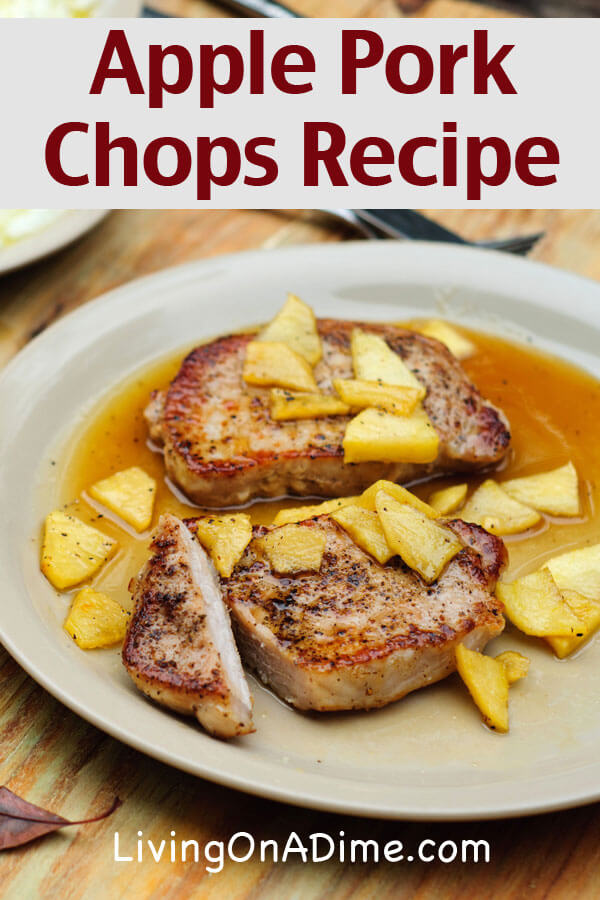 Apple Pork Chops Recipe
