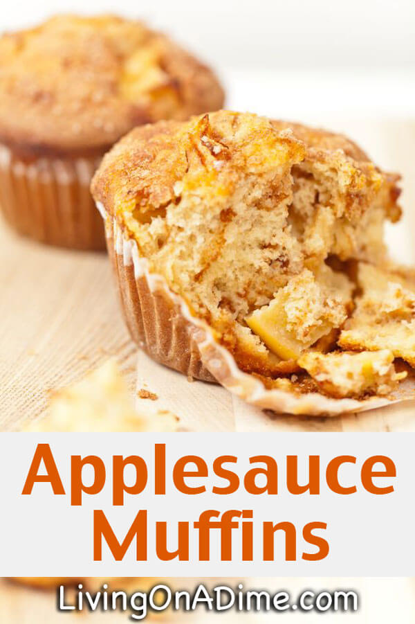 Yummy Applesauce Muffins Recipe - 18 Of The BEST EVER Apple Recipes