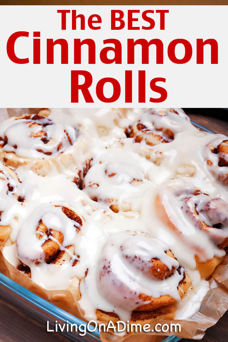 This is the very best homemade cinnamon rolls recipe and they're gooey and delicious! I love cinnamon rolls! But why spend a fortune on them at your local store?  You can make 3 batches of homemade cinnamon rolls for the price of 1 restaurant cinnamon roll!!! Now that's a deal!