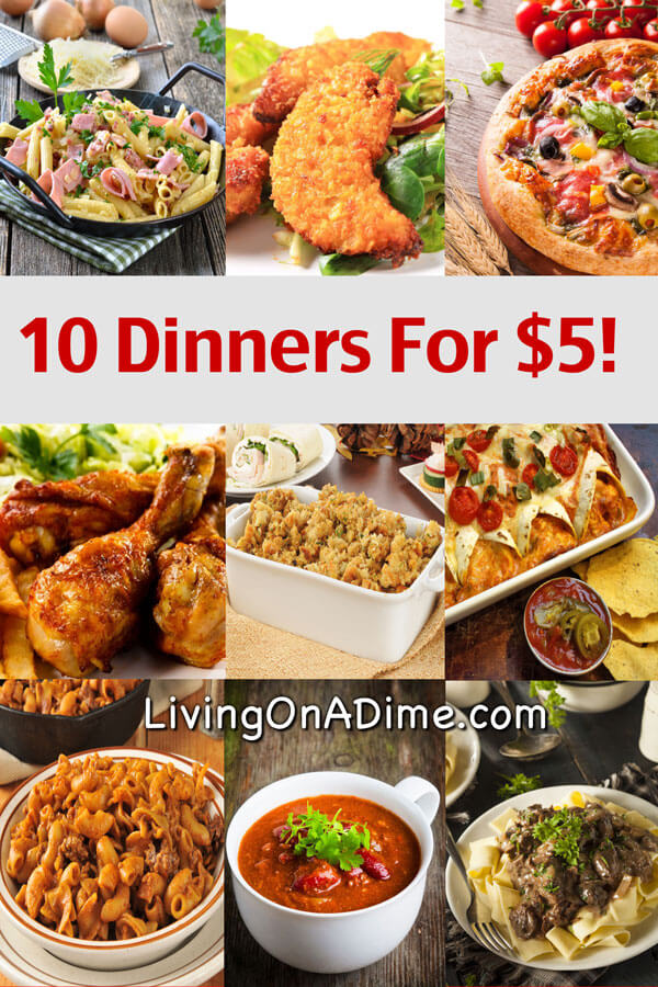 Inexpensive Dinner Party Ideas Part - 24: 10 Dinners For $5 U2013 Cheap Dinner Recipes And Ideas