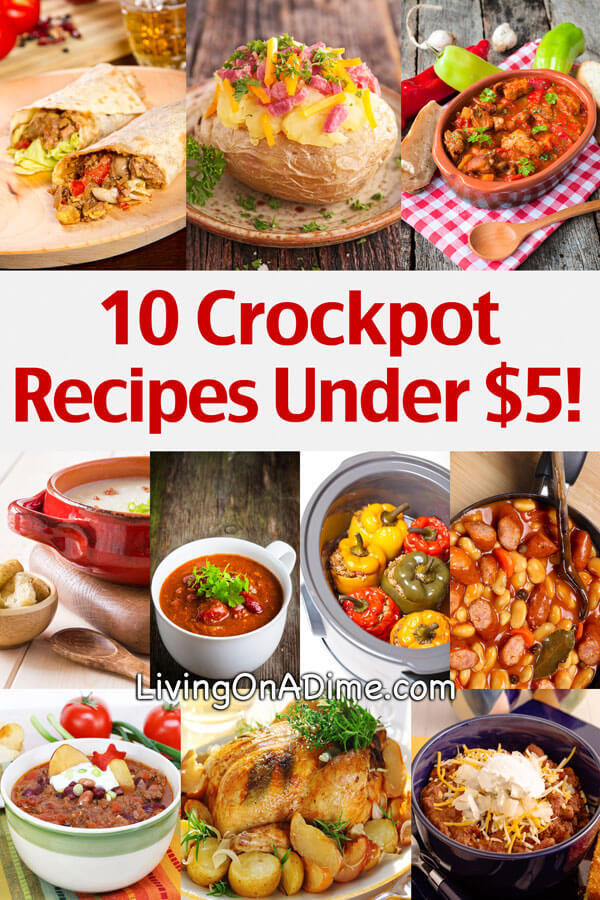 10 crockpot recipes under 5 easy meals your family will for Easy things to make for dinner for two