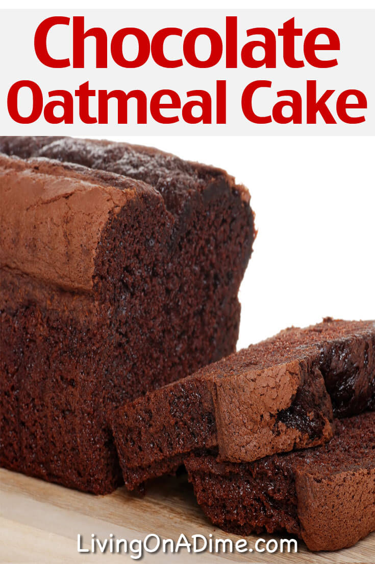 This chocolate oatmeal cake recipe is one of the BEST chocolate cake recipes! It makes a rich and delicious chocolate cake your chocolate lovers are sure to love!