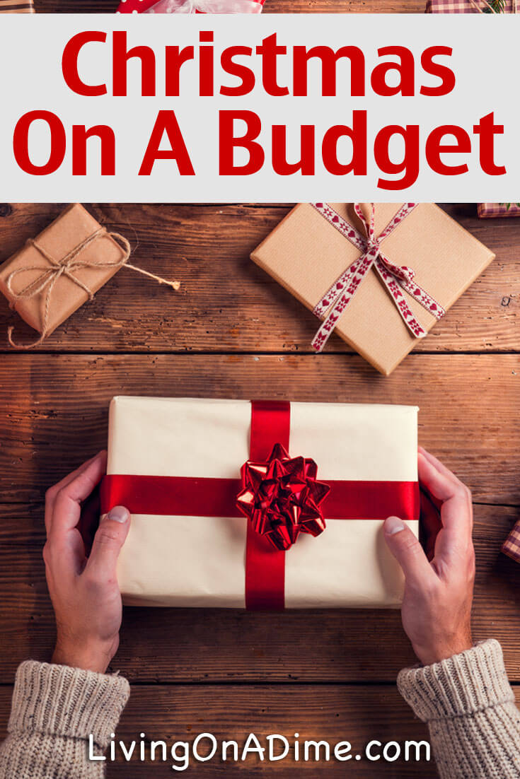 here are some ideas and tips for celebrating christmas on a budget including some gift