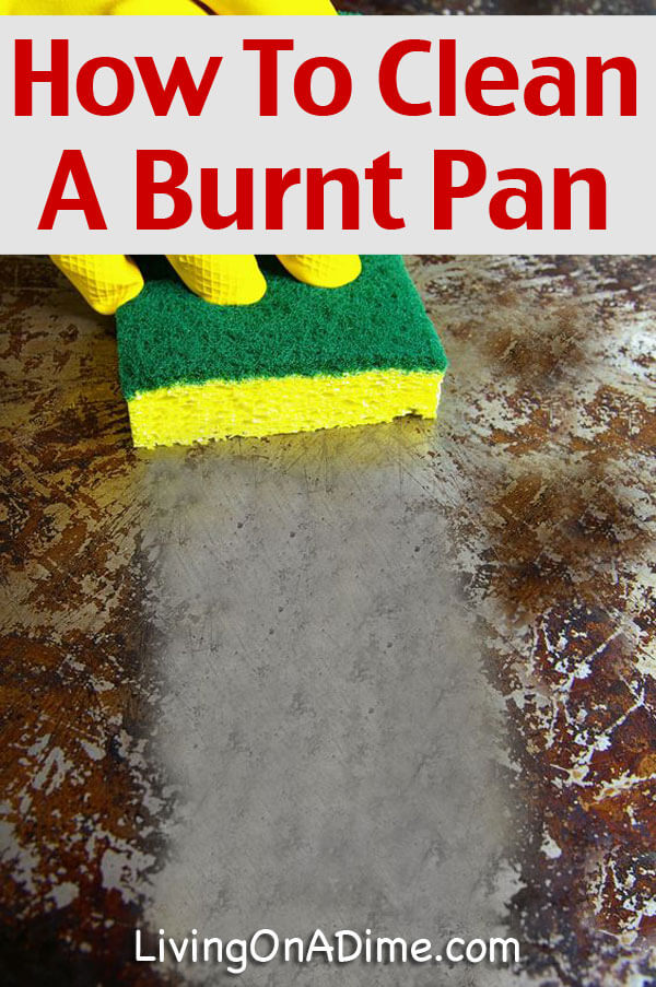 How To Clean A Burnt Pot Or Pan