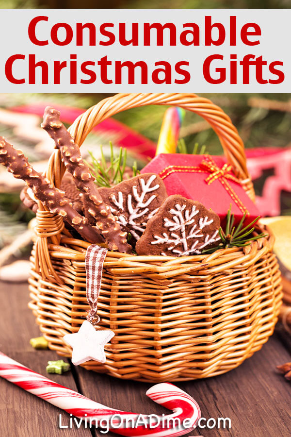 Consumable Christmas Gifts