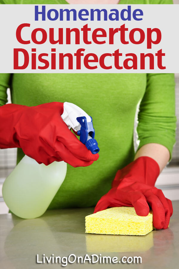 Countertop Disinfectant Recipe