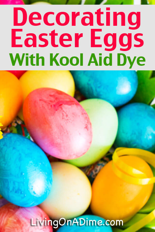 Decorating Easter Eggs With Kool Aid Dye