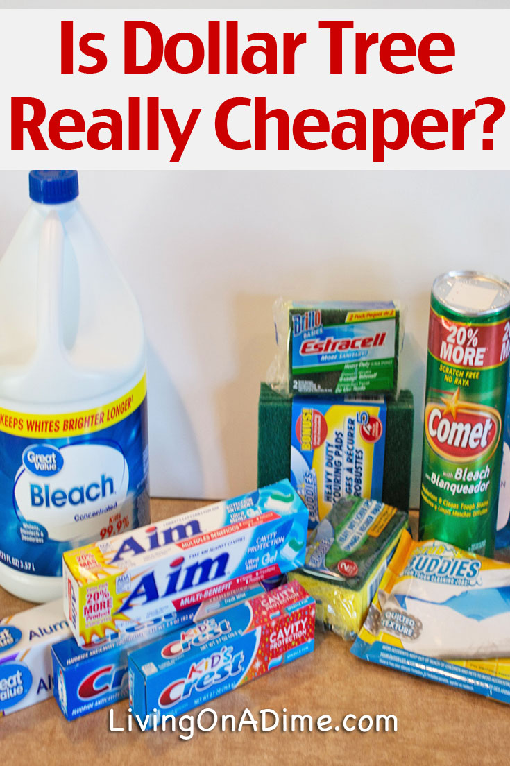 Is Dollar Tree REALLY cheaper? Testing Dollar Tree Vs  Walmart!