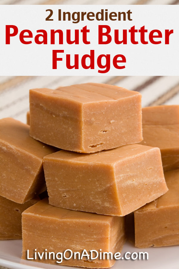 Easiest Peanut Butter Fudge Recipe — Dishmaps
