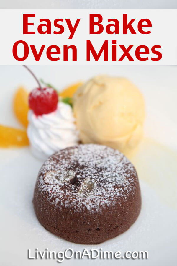 Easy bake oven cake mix recipe and easy bake frosting easy bake oven cake mix recipe forumfinder Images