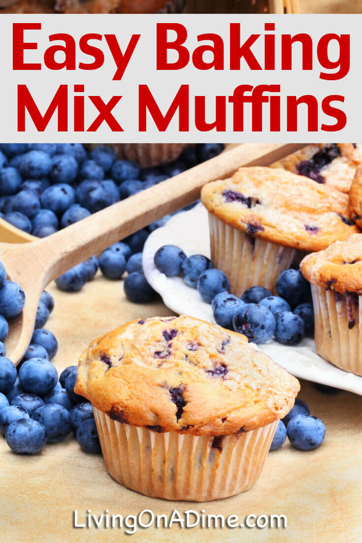 This easy baking mix muffins recipe makes delicious muffins in just minutes with our baking mix, bisquick or your favorite baking mix recipe.