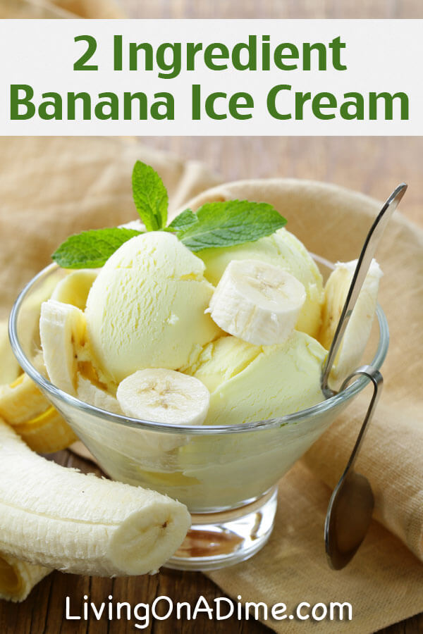 12 easy 2 ingredient homemade ice cream recipes banana ice cream recipe 12 easy 2 ingredient homemade ice cream recipes ccuart Image collections