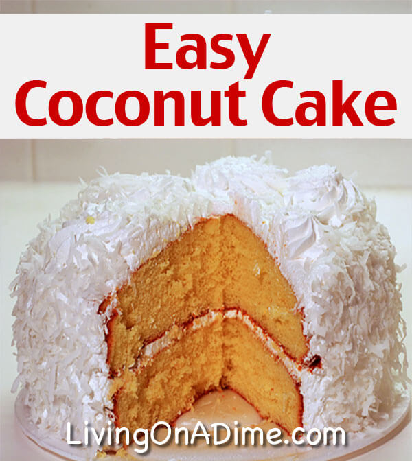 Easy Cake Recipes And Pictures : Easy Coconut Cake Recipe - Crockpot Beef Burger Stroganoff ...