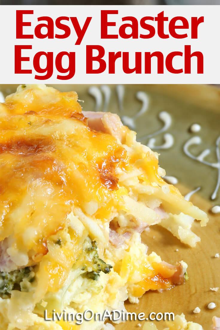 Easy Easter Egg Brunch Recipe Living On A Dime