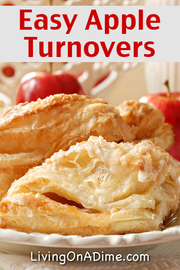 Easy Homemade Apple Turnovers Recipe - 18 Of The BEST EVER Apple Recipes