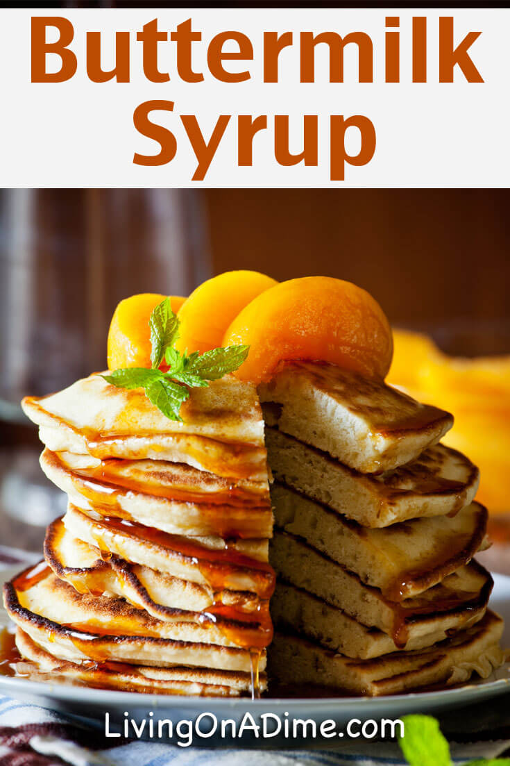Easy Buttermilk Syrup Recipe