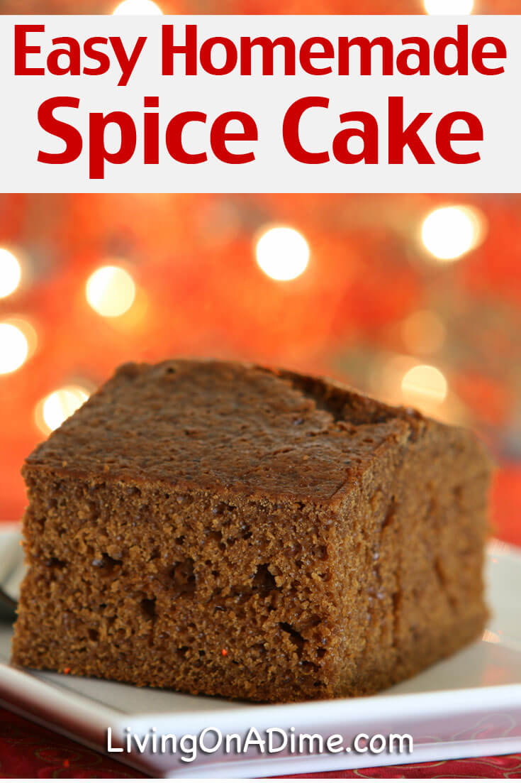 How To Make A Spice Cake From Scratch
