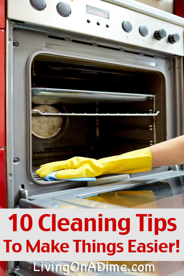 10 Spring Cleaning Tips To Make Things Easier!