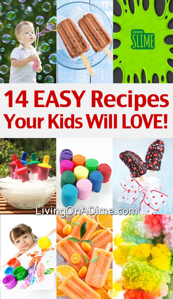 Cool and easy recipes for kids