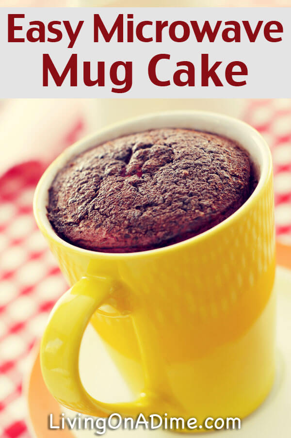 Easy Quick Microwave Cake Recipes