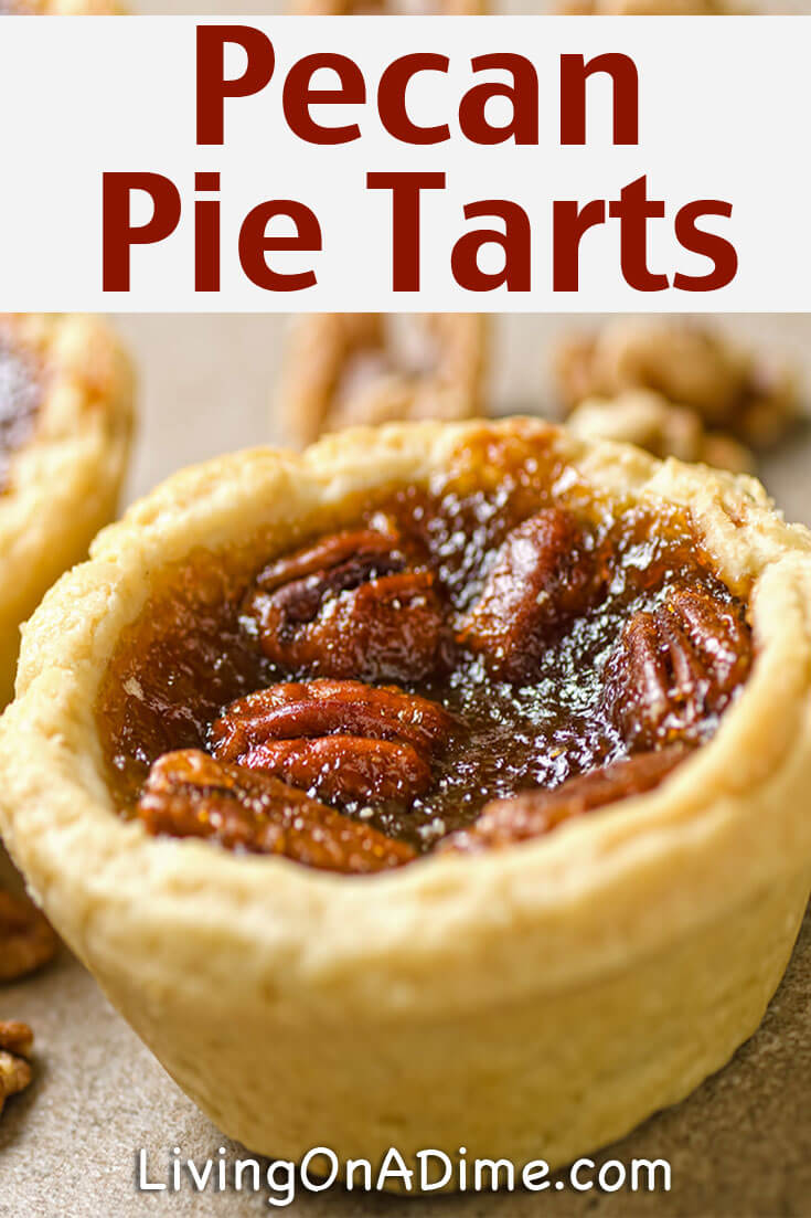 This easy pecan pie tarts recipe makes tasty mini pecan pies that are so easy for parties and get-togethers! You'll be able to serve these pumpkin pie tarts without having to worry about the cutting and the mess, so you can get back to enjoying time with your guests!