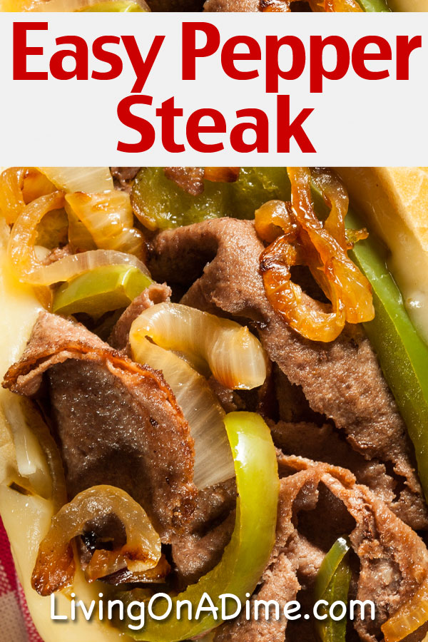This easy pepper steak recipe makes a tasty home cooked meal! If you don't know how to make pepper steak, you can use this recipe to make it in a crockpot, on a stovetop or in an Instapot and have a restaurant quality meal at only a fraction of the cost!