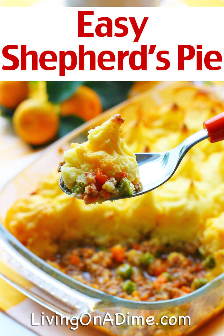 Easy Shepherd S Pie