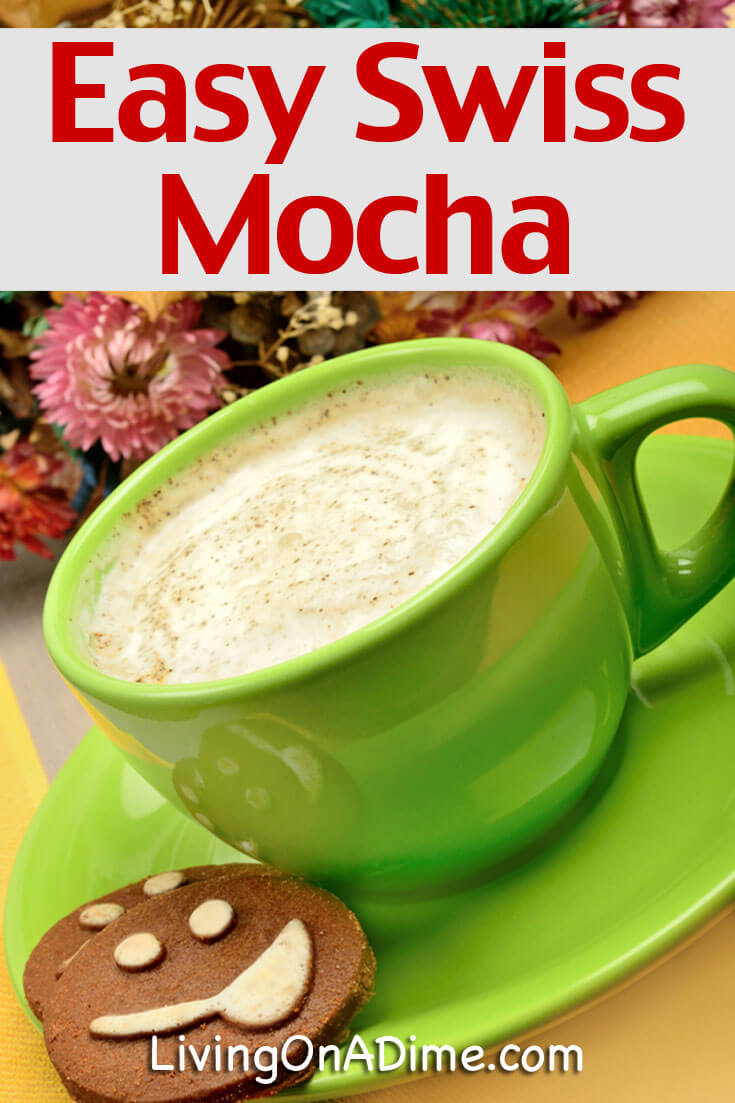 Save money with this easy Swiss Mocha recipe! It's a less expensive way to enjoy this tasty treat and works well as a jar mix that you can give as a gift!