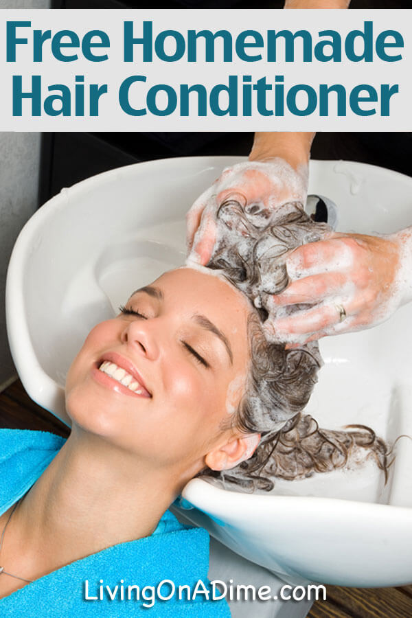Free Homemade Hair Conditioner