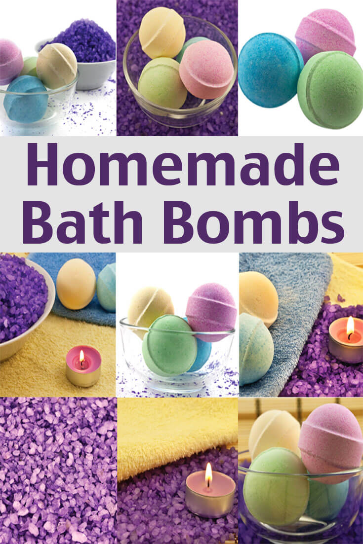 This homemade bath bombs recipe can be made at home with a few easy to get ingredients.</strong> Pamper yourself and reduce stress without spending a lot of money!