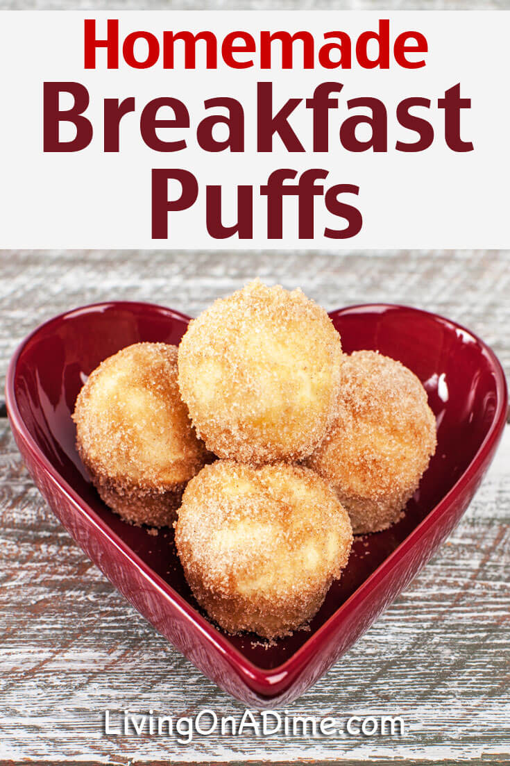 This homemade French breakfast puffs recipe makes an extra tasty muffin like breakfast item. They're light, tender and delicious and they're oh so easy to make! My kids and family love them and we serve them for holidays and other special occasions! Try them next time you're looking for a yummy breakfast or snack item!