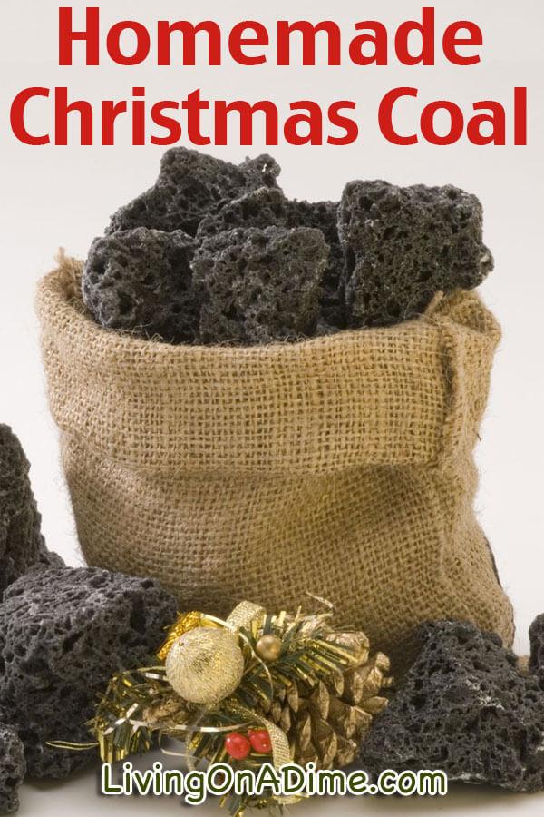 Homemade Christmas Coal Recipe - Living on a Dime