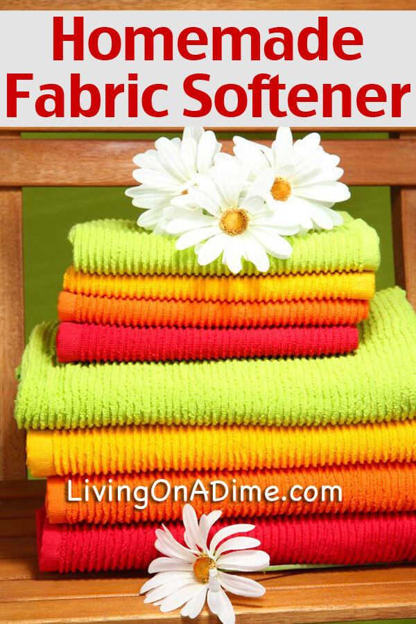 Homemade Fabric Softener Recipe - 5 Homemade Cleaners You Didn't Know You Could Make at Home